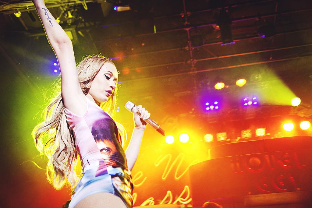 Iggy Azalea at the Irving Plaza in NYC.