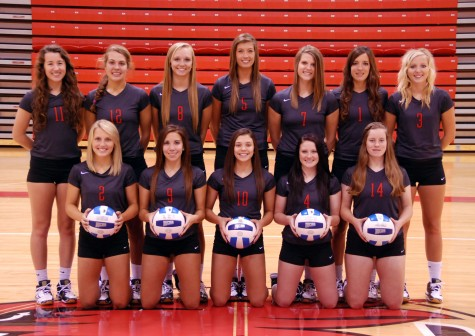 Hawks Volleyball Team 2-2 At Colorado Tournament
