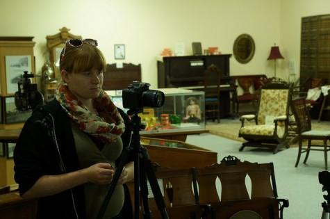 Digital Cinema student Kat Stuthman