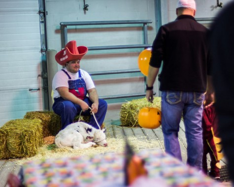 Northeast Community College Spook-tacular petting zoo