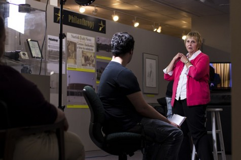 Ty Vetter interviews Board Vice President Sheryl Schmeckpeper