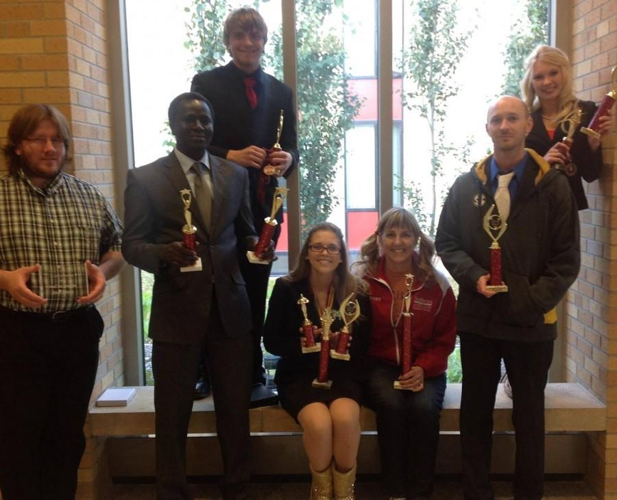 Speech Team Excels In First Tournament Of The Year