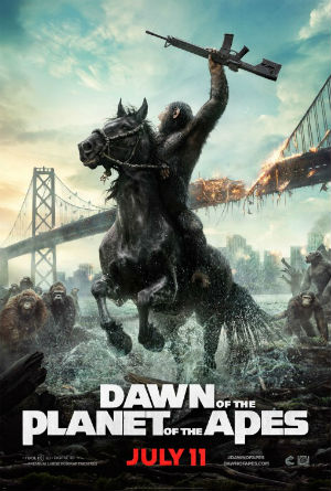 Monday Night at the Movies- Dawn of the Planet of the Apes