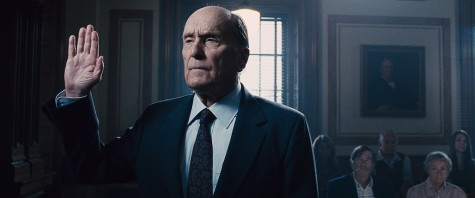 "Robert Duvall as Joseph Palmer in Warner Bros. Pictures' and Village Roadshow Pictures' drama ""The Judge,"""