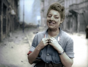 """""""Warsaw Uprising"""" is cut together from six hours of original silent newsreel footage shot during the 63-day struggle led by the Polish resistance Home Army to liberate the city from Nazi occupation."""