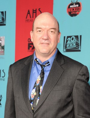 """John Carroll Lynch attends the premiere screening of FX's """"American Horror Story: Freak Show"""" at Hollywood's TCL Chinese Theatre on Oct. 5, 2014. Lynch plays the murderous Twisty the Clown in the show."""