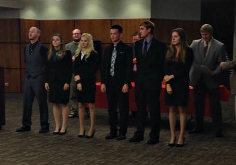 Speech Team Performs
