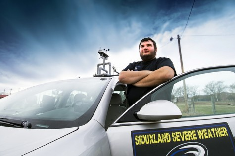 Northeast Student Protects Community as a Storm Spotter