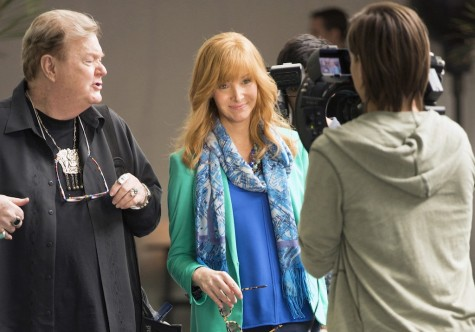 "Robert Michael Morris and Lisa Kudrow in ""The Comeback,"" episode 14."
