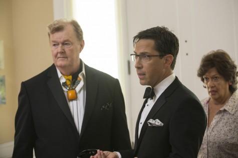 """Robert Michael Morris, Dan Bucatinsky and Lilian Hurst in """"The Comeback,"""" episode 15."""