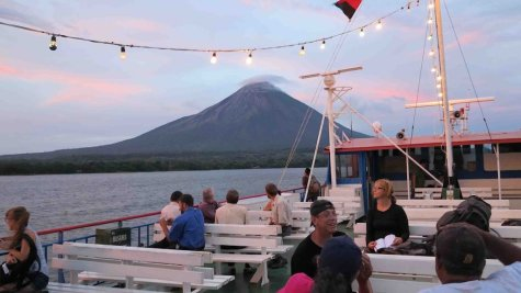 On Lake Nicaragua's Adventure Isle, Twin Volcanoes Play Host