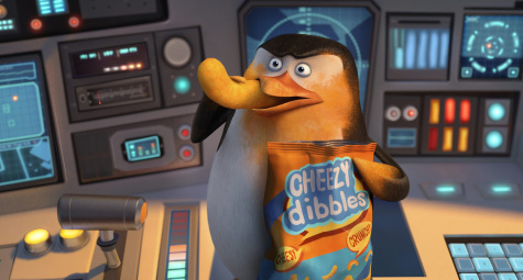 """Penguins of Madagascar"" opens Nov. 26. Pictured is Skipper, voiced by Tom McGrath."