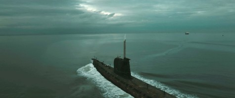 "The submarine embarks on the search for sunken treasure in the depths of the Black Sea in Focus Features' upcoming adventure thriller "" Black Sea."""
