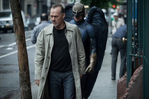 """Birdman"" is nominated for Best Picture in the 87th Academy Awards. Michael Keaton as Riggan in ""Birdman."""