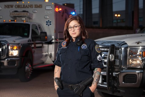 "Holly Monteleone stars in A&E's new original series, ""Nightwatch,"" premiering on Thursday, January 22 at 10:00 PM ET/PT."