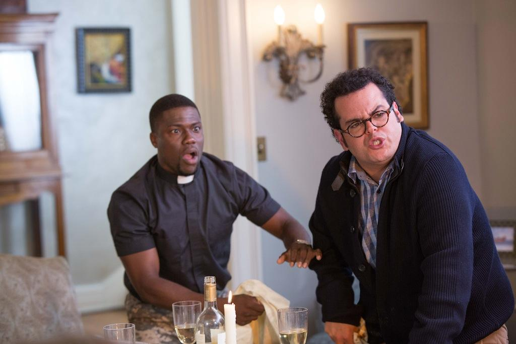 Jimmy (Kevin Hart) with Doug (Josh Gad) in Screen Gems'