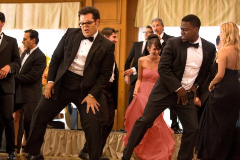 "Jimmy (Kevin Hart), right, with Doug (Josh Gad) in Screen Gems' ""The Wedding Ringer."""