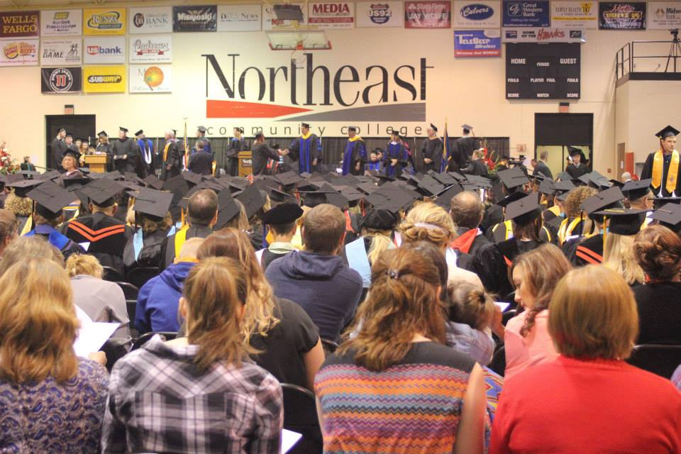 Northeast Community College Graduation - May, 2014