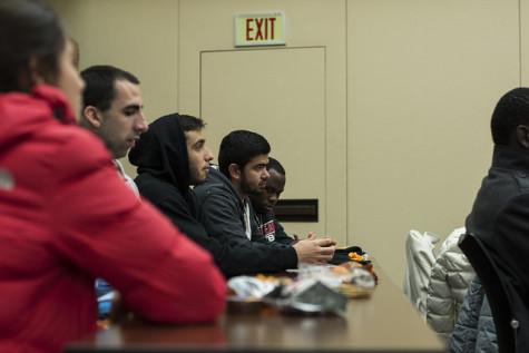 International Student Club at NECC