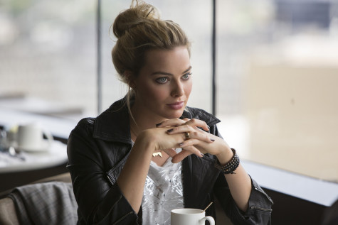 "Margot Robbie stars in the film ""Focus."""
