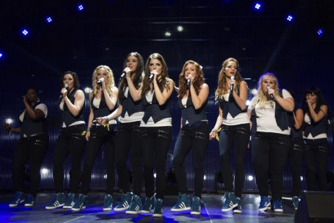 """Pitch Perfect 2"" reunites the Barden Bellas (Anna Kendrick, Rebel Wilson, Brittany Snow) and picks up a new addition (Hailee Steinfeld)."