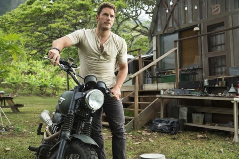 "Chris Pratt stars in the highly-anticipated ""Jurassic World,"" which comes out June 12."