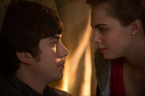 "Nat Wolff and Cara Delevingne play Quentin and Margo in ""Paper Towns,"" a film based on the John Green novel."