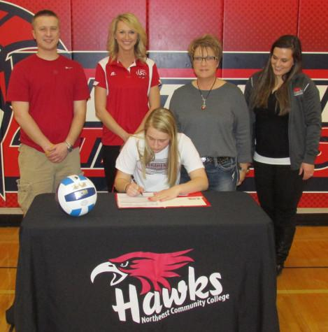 Stolzer Signs To Play Volleyball At Northeast