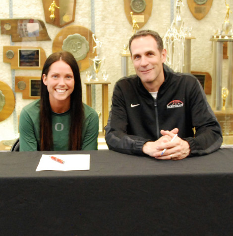 Oregon Signs Northeast's Trinder