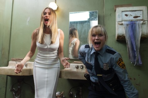 "Sofia Vergara (Daniella Riva) and Reese Witherspoon (Cooper) star in the comedy ""Hot Pursuit."" (Photo courtesy Warner Bros. Pictures/TNS)"
