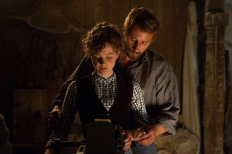 "Carey Mulligan as Bathsheba and Matthias Schoenaerts as Gabriel in ""Far From the Madding Crowd."" (Photo courtesy Fox Searchlight Pictures/TNS)"
