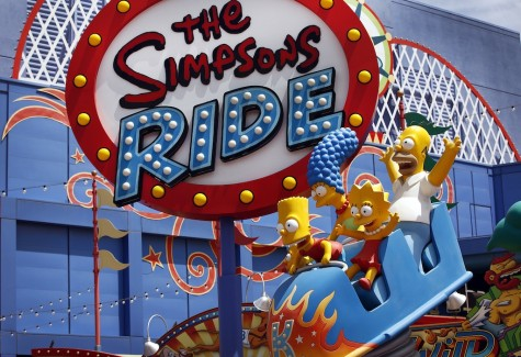 The original Simpsons ride at Universal Studios Hollywood has expanded to include a replica of Springfield, the home of America's favorite yellow TV characters. (Al Seib/Los Angeles Times/TNS)