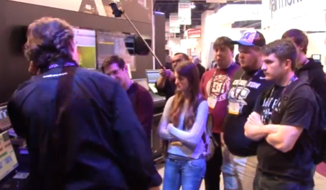 Media Arts Students Learn At The National Association Of Broadcasters Show