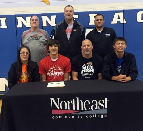 Winnebago's Mathew Wingett Signs With Northeast Community College