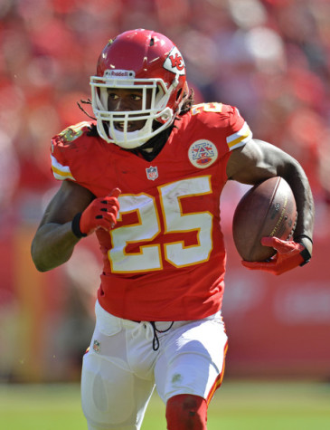 Jamaal Charles Likes The Look Of Chiefs' Offensive Line