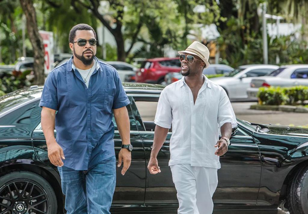 "Ice Cube and Kevin Hart in ""Ride Along 2."" (Quantrell D. Colbert/Universal Pictures)"