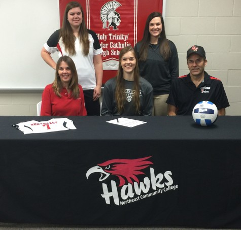 Hartington Cedar Catholic's Lammers To Play Volleyball At Northeast