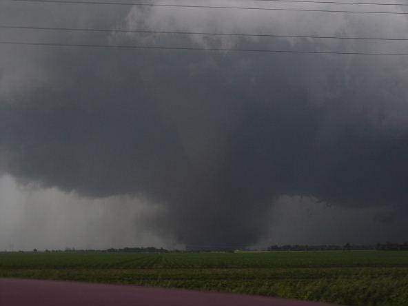 Aurora, Nebraska tornado of 2009.