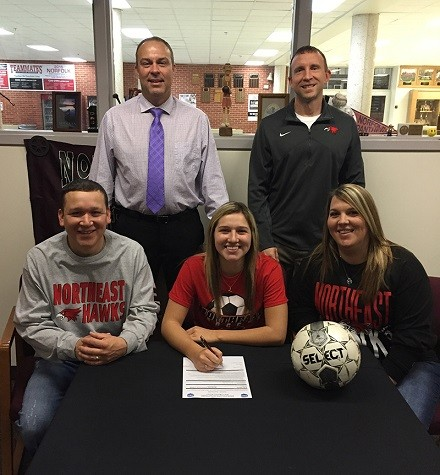 Medel Signs With Northeast's Soccer Program
