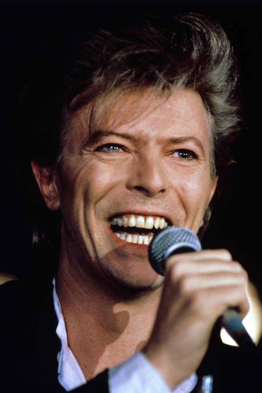 File photo dated March 20, 1987 of David Bowie, who has died following an 18-month battle with cancer. (PA Wire/Zuma Press/TNS)