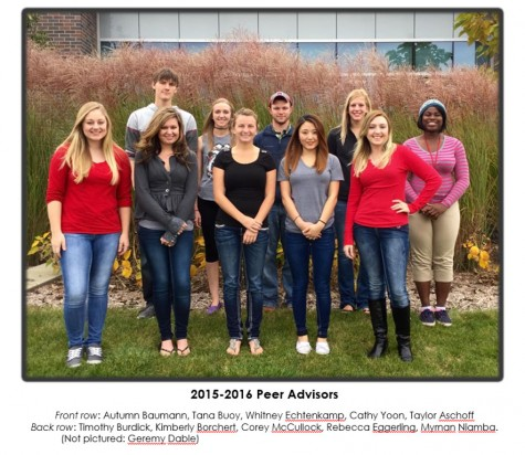 Peer Advisors Needed for 2016-2017 School Year