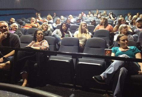 Norfolk audience asked Northeast Digital Cinema students questions about their filming process