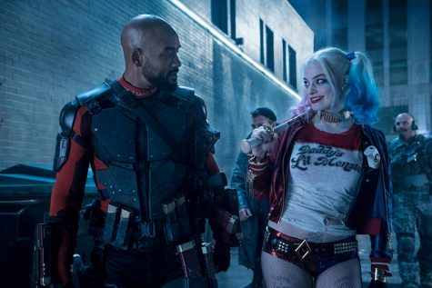 Will Smith (Deadshot) and Margot Robbie (Harley Quinn) in