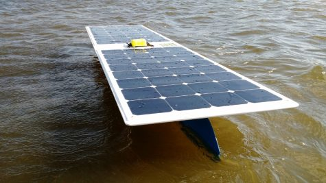 Engineer's solar seadrone makes historic crossing
