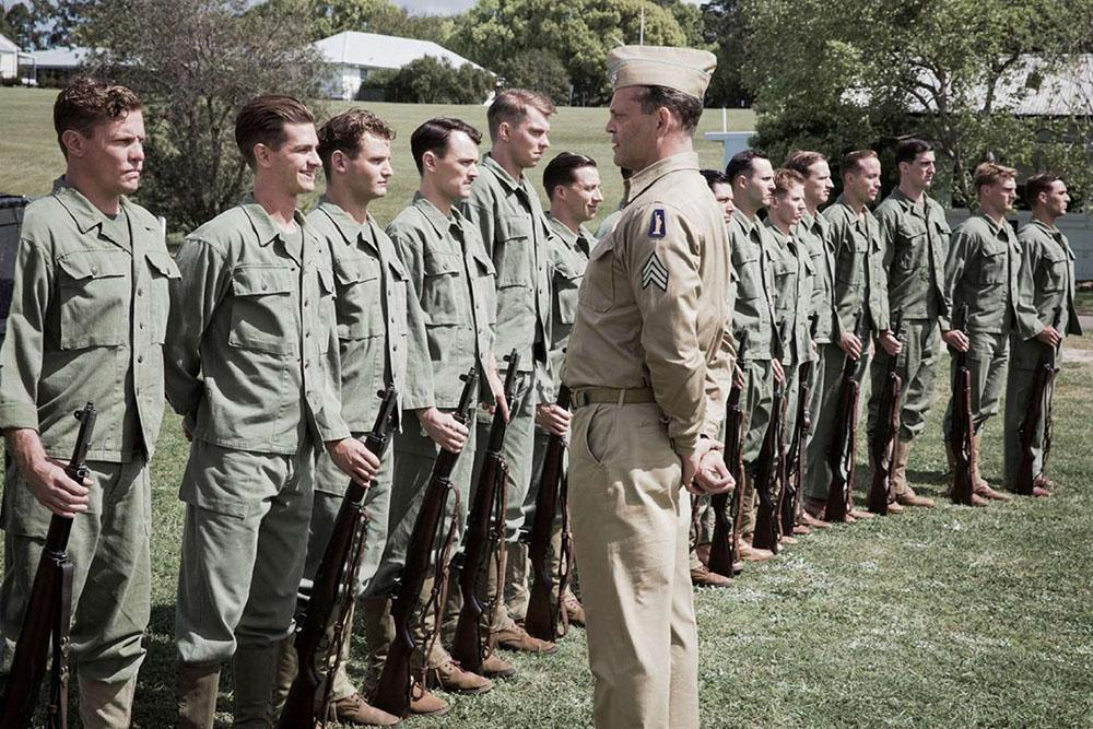 "Vince Vaughn in ""Hacksaw Ridge."" (Cross Creek Pictures)"