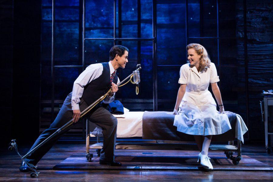 The+Broadway+musical+%22Allegiance%22+with+Telly+Leung+and+Katie+Rose+Clarke.+%28Matthew+Murphy%2FAllegiance%2FTNS%29