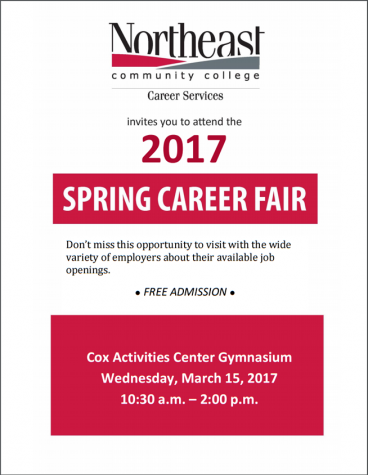 Northeast is hosting a career fair