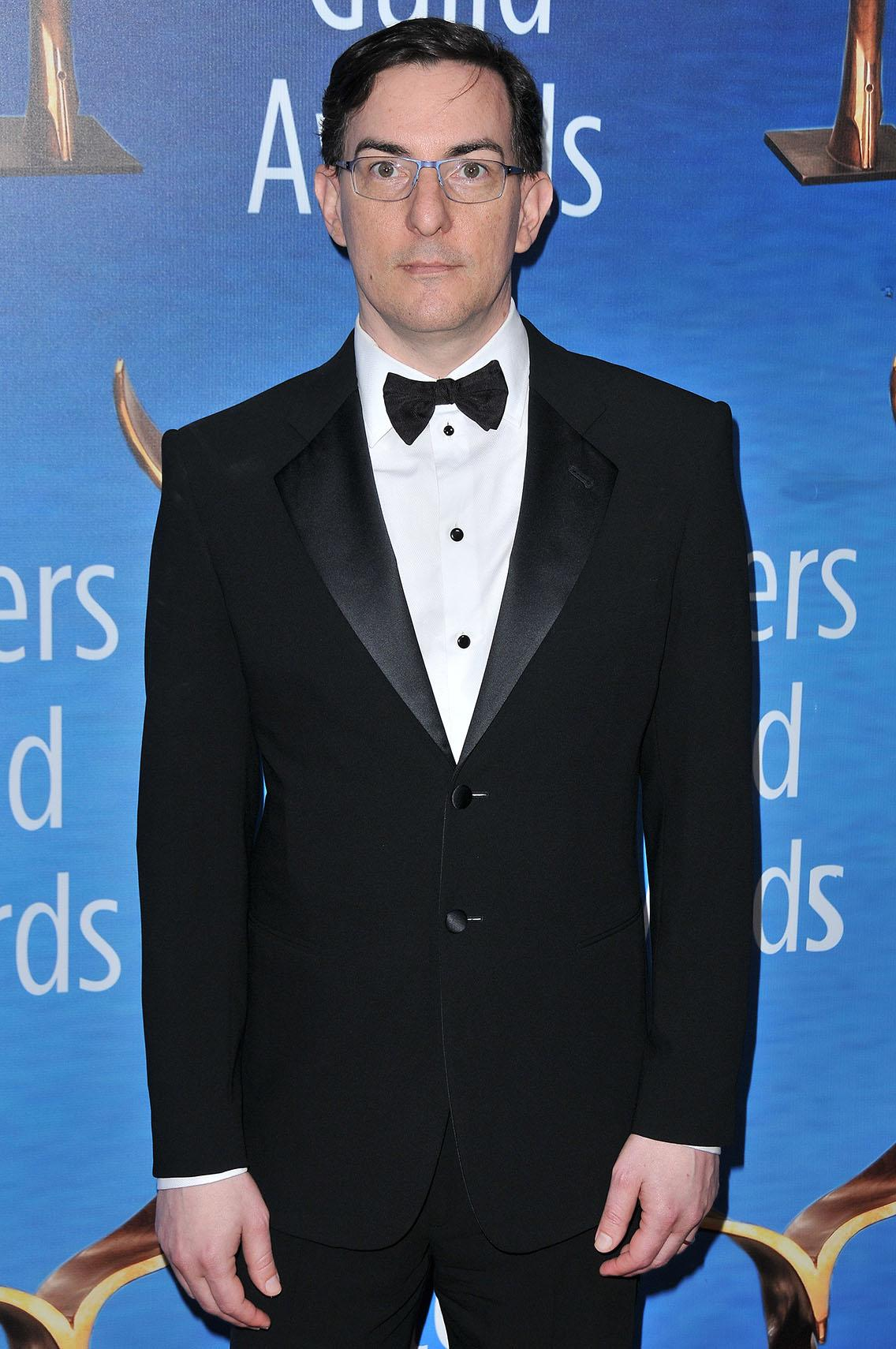 Eric Heisserer arrives at the Writers Guild Awards L.A. Ceremony held at The Beverly Hilton in Beverly Hills, Calif., on February 19, 2017. (Sthanlee B. Mirador/Sipa USA/TNS)