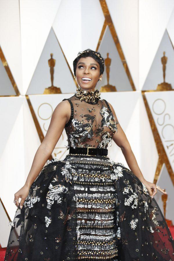 Janelle+Monae+arrives+at+the+89th+Academy+Awards+on+Sunday%2C+Feb.+26%2C+2017%2C+at+the+Dolby+Theatre+at+Hollywood+%26amp%3B+Highland+Center+in+Hollywood.+%28Jay+L.+Clendenin%2FLos+Angeles+Times%2FTNS%29
