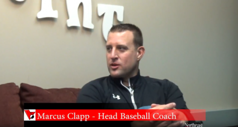 New team, new coach -Marcus Clapp, Northeast's baseball coach